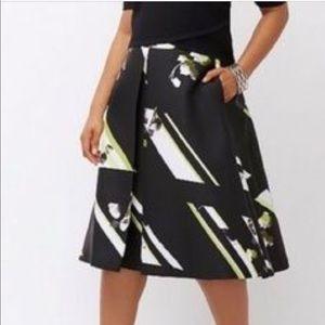 Lane Bryant pleated midi skirt(sale)